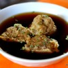 Thumbnail image for Leberknödel (Liver Dumplings) with Chicken and Forest Mushroom Soup