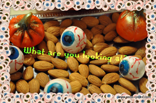 Post image for Marzipan Eyeballs…Great Hallow Tweet Halloween Blog Hop